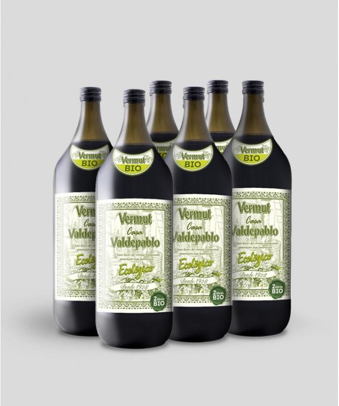 Caja Vermut Casa Valdepablo Ecológico  2L x 6 botellas