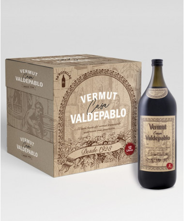 Caja Vermut Casa Valdepablo 2L x 6 botellas